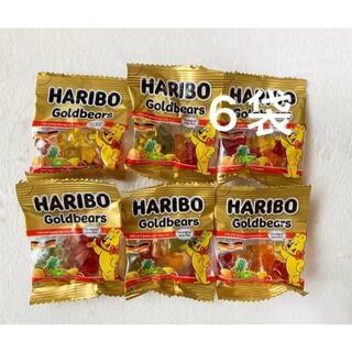 ゴールデンベア(Golden Bear)のHARIBO ハリボー グミ フルーツ味  6袋 コストコ(菓子/デザート)