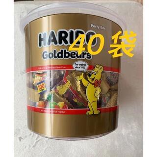 ゴールデンベア(Golden Bear)のHARIBO ハリボー グミ フルーツ味  40袋 コストコ(菓子/デザート)