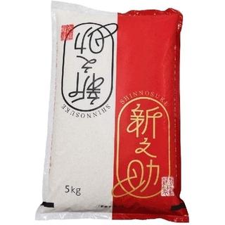 新潟県産新之助 白米5㎏(令和2年産)(米/穀物)