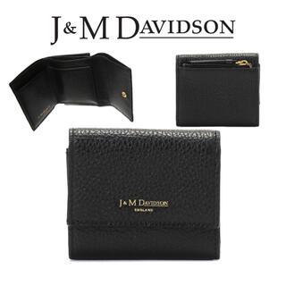 ジェイアンドエムデヴィッドソン(J&M DAVIDSON)の新品 定価4.1万円 J&M DAVIDSON TWO FOLD WALLET(財布)
