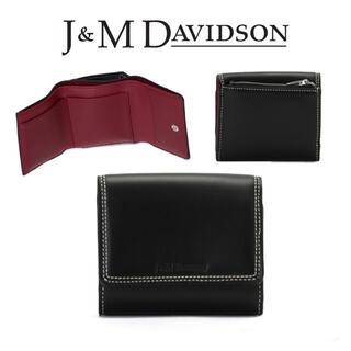 ジェイアンドエムデヴィッドソン(J&M DAVIDSON)の新品 定価4.1万円 J&M DAVIDSON FOLDING WALLET(財布)