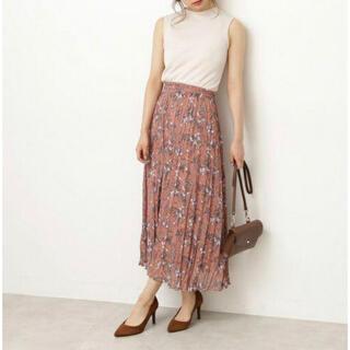 PROPORTION BODY DRESSING - 花柄ロングスカート♡プロポーションボディドレッシング