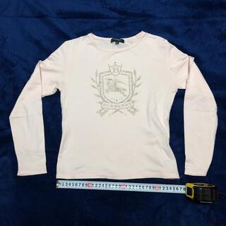 バーバリー(BURBERRY)のバーバリー トップス 150 ライトピンク BURBERRY(Tシャツ/カットソー)