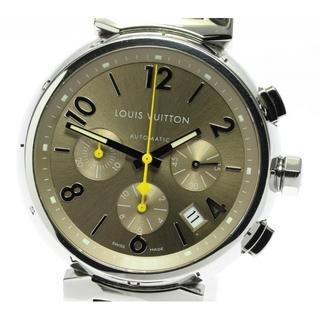 ルイヴィトン(LOUIS VUITTON)のルイ・ヴィトン タンブール クロノグラフ Q1122 メンズ 【中古】(腕時計(アナログ))