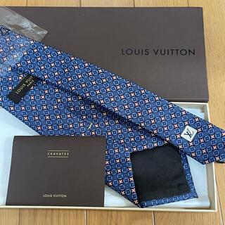 LOUIS VUITTON - 【新品箱付き】LOUIS VUITTONモノグラム柄ネクタイ