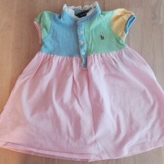 ポロラルフローレン(POLO RALPH LAUREN)のRALPH LAUREN 80 半袖 ポロシャツ ワンピース(ワンピース)