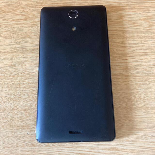 NTTdocomo(エヌティティドコモ)のdocomo SONY so-04e ブラック スマホ/家電/カメラのスマートフォン/携帯電話(スマートフォン本体)の商品写真