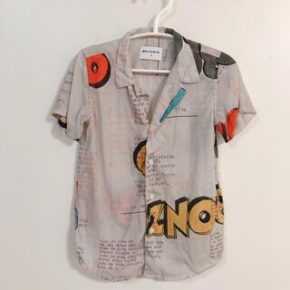 こどもビームス - 美品 Wolf&Rita ウルフアンドリタ BONZO 半袖シャツ ブラウス
