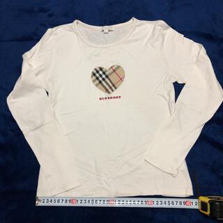 バーバリー(BURBERRY)のバーバリー トップス Tシャツ 160  BURBERRY(Tシャツ/カットソー)