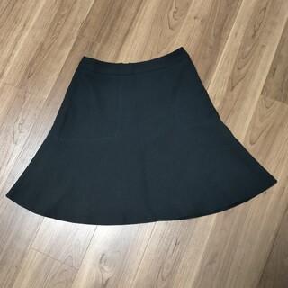 エニィスィス(anySiS)のany  sisスカート黒  サイズ2(ひざ丈スカート)
