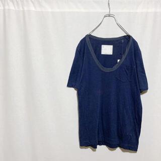 sacai - 【タグ付き】定価1万 sacai サカイ ポケットTシャツ ネイビー