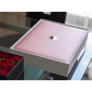 【極美品】Macbook 2017 12インチ ローズゴールド62回Office
