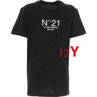 ヌメロヴェントゥーノ(N°21)のN°21 kids ヌメロヴェントゥーノ キッズ  ロゴTシャツ(Tシャツ(半袖/袖なし))