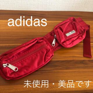 adidas - アディダス ウエストポーチ ボディーバッグ ランニングポーチ ヒップバッグ