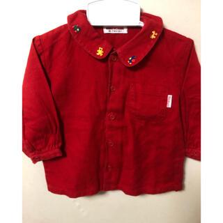 ミキハウス(mikihouse)のミキハウス シャツ80(Tシャツ)