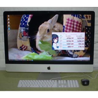 アップル(Apple)のiMac 2012 27-inch Late i5 3.2GHz 爆速・美品(デスクトップ型PC)
