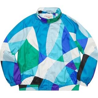 シュプリーム(Supreme)のsupreme Emilio Pucci Sport Jacket blue M(ナイロンジャケット)