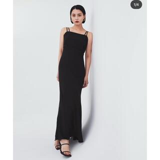 Ameri VINTAGE - glass dress BLACK