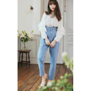 snidel - Her lip to♡完売Hight Waisted StraightJeans