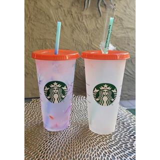 Starbucks Coffee - スターバックス スタバ リユーザブル コールドカップ 海外限定 カラーチェンジ