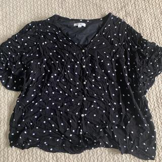 ニコアンド(niko and...)のニコアンド ドットシャツ(シャツ/ブラウス(半袖/袖なし))