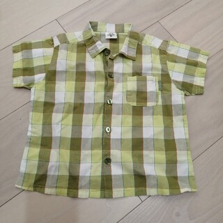 ベベ(BeBe)のべべ チェックシャツ(Tシャツ/カットソー)