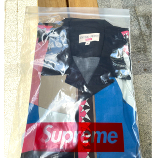 Supreme - 【 Pink M 】Supreme Emilio Pucci S/S Shirt