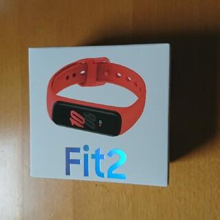 Galaxy Fit2 SM-R220NZKAXJP レッド 赤
