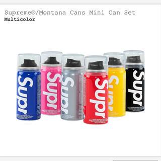 シュプリーム(Supreme)のsupreme Montana Cans mini Can Set スプレー缶(その他)