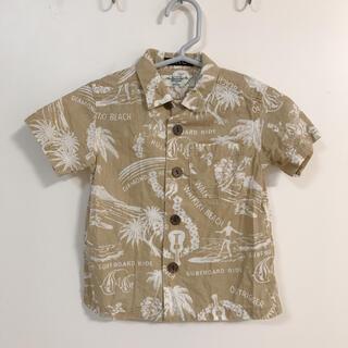 ロンハーマン(Ron Herman)の美品 Ron Herman ロンハーマン キッズ アロハシャツ ベージュ(Tシャツ/カットソー)