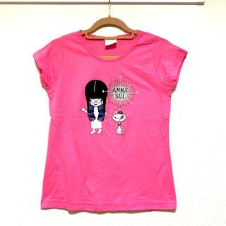 アナスイ(ANNA SUI)のANNA SUIアナスイ 女の子とネコ柄インパクトTシャツ(Tシャツ(半袖/袖なし))