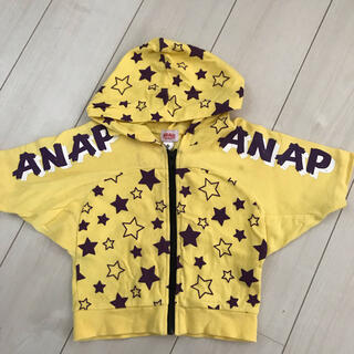 アナップキッズ(ANAP Kids)のANAP kids 90 半袖パーカー(Tシャツ/カットソー)