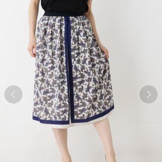 グローブ(grove)の♡ペイズリースカート♡(ひざ丈スカート)