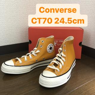 CONVERSE - 【新品】ct70 24.5cm converse チャックテイラー サンフラワー