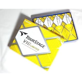 ブリヂストン(BRIDGESTONE)の【新品】ブリヂストンTOURSTAGE V10リミテッド ボール(その他)