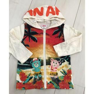 アナップキッズ(ANAP Kids)のANAP kids 90 パーカー ツーウェイ(Tシャツ/カットソー)