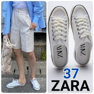 ZARA - ZARA (37) バックレススニーカー ミュールスニーカー