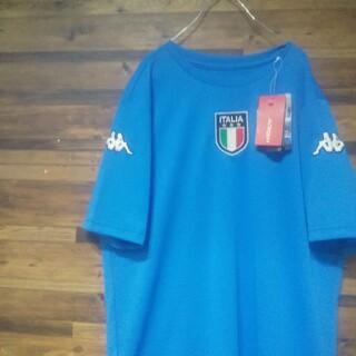 カッパ(Kappa)の【新品未使用】Kappa カッパ イタリア代表 刺繍ロゴ デザインゲームシャツ (ウェア)
