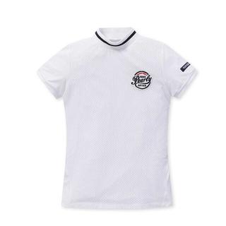 PEARLY GATES - パーリーゲイツ  レディース メッシュシャツ0サイズ新品、正規品