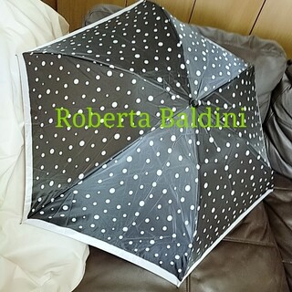 美品 Roberta Baldini 折り畳み傘 折り畳み  晴雨兼用傘 日傘
