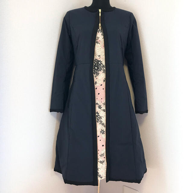 TOCCA(トッカ)の新品♪2021 TOCCAトッカ 6 ネイビー【洗える!】INVERNO コート レディースのジャケット/アウター(ロングコート)の商品写真