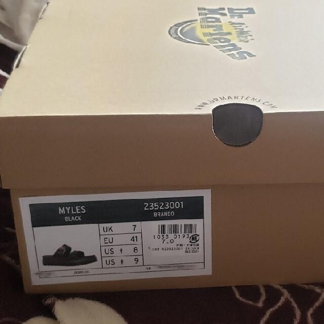 Dr.Martens(ドクターマーチン)のDR.MARTENS ドクターマーチンサンダル 厚底レザー マイルス 26cm  メンズの靴/シューズ(サンダル)の商品写真