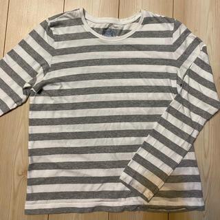 ムジルシリョウヒン(MUJI (無印良品))の無印良品 ボーダー 長袖Tシャツ(Tシャツ(長袖/七分))