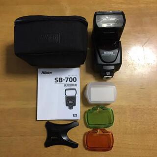 ニコン(Nikon)のNikon スピードライト sb700 ストロボ(ストロボ/照明)