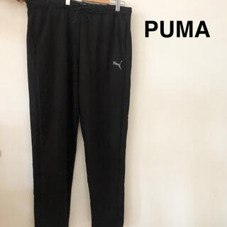 プーマ(PUMA)の新品黒 プーマ ジャージ メンズ トレーニング ウェア ズボン パンツ PUMA(その他)