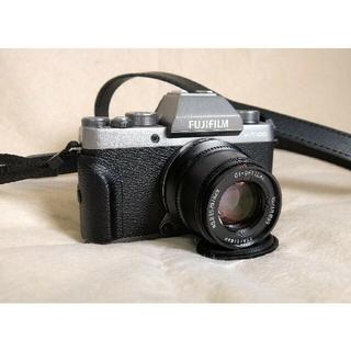 富士フイルム - 美品 FUJI FILM X−T100 DARKSILVER レンズ付属品多数