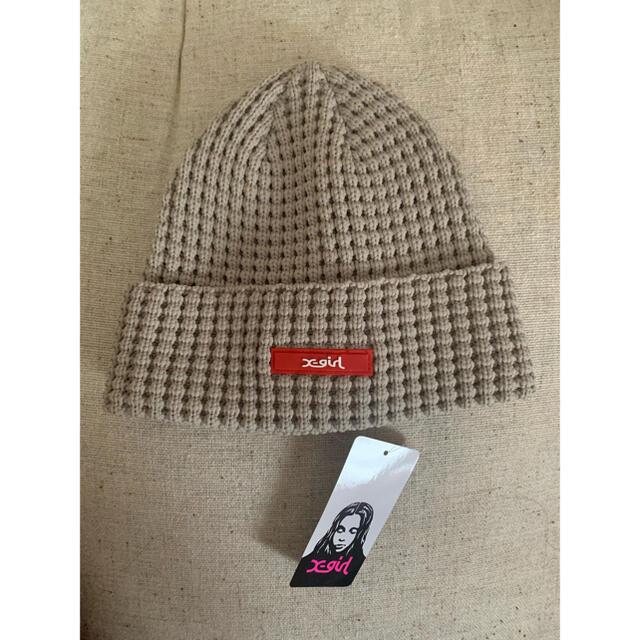 X-girl(エックスガール)のニット帽 レディースの帽子(ニット帽/ビーニー)の商品写真