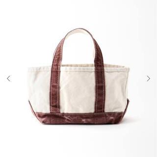 アパルトモンドゥーズィエムクラス(L'Appartement DEUXIEME CLASSE)のタグ付新品⭐️L.L.Bean Canvas Mini Tote Bag (トートバッグ)