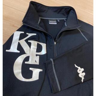 カッパ(Kappa)のkappa カッパ ハーフジップ 長袖 ストレッチ ブラック サイズL(ウエア)