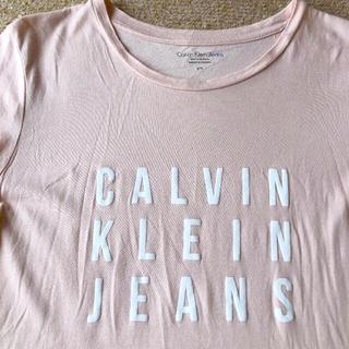 カルバンクライン(Calvin Klein)のカルバンクライン Lサイズ 丈長レディース Tシャツ(Tシャツ(半袖/袖なし))